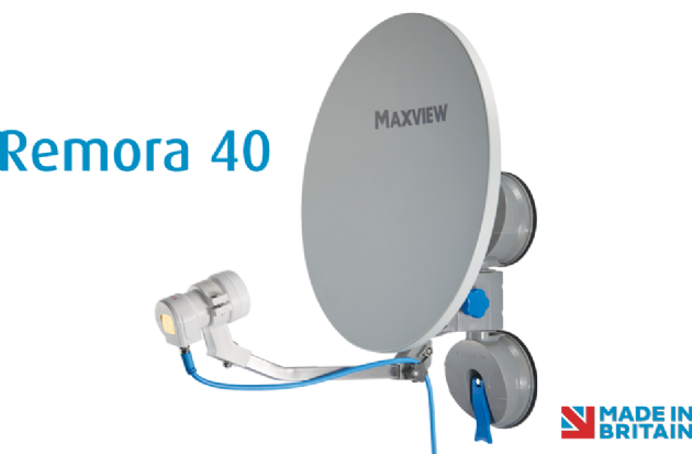 Maxview Remora 40 Suction Mount Portable Satellite TV Kit, TV & Satellite for caravan and motorhome, Sale - Grasshopper Leisure